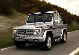 Mercedes-Benz G Klasa Cabrio